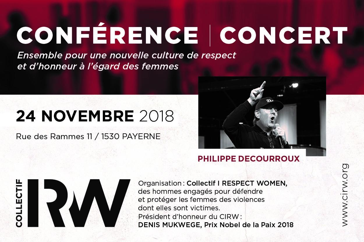 Conférence et concert CIRW