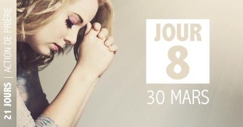 Jour 8 : prions pour les médias et les experts (30 mars)
